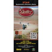 Butler Motorcycle Maps - Utah Backcountry Discovery Route (UTBDR)