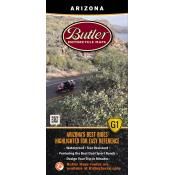 Butler Motorcycle Maps - Arizona