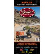 Butler Motorcycle Maps - Nevada Backcountry Discovery Route (NVBDR)