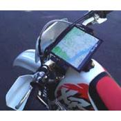 Crossbar Map Holder for Dual Sport, Enduro, and ADV motorcycles