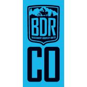 Colorado Backcountry Discovery Route COBDR Pannier Decal
