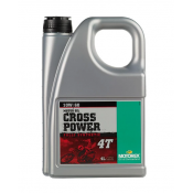 Motorex CROSS POWER 4T SAE 10W60 100% SYN  (4 Liter Bottle)
