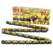 DID Gold X-Ring VX Chain, 525, 124 Links