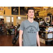Touratech USA Athletic T-Shirt