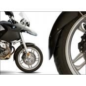BMW R1200GS/Adventure Lower Front Fender Extender, Matte Black, up to 2013 (Oil Cooled)