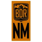NMBDR Pannier Decal, New Mexico Backcountry Discovery Route