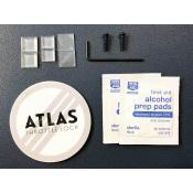 ATLAS Throttle Lock, Universal Motorcycle Cruise Control, Spare Parts Kit
