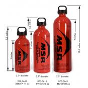 MSR fuel bottle: 591 ml (20 oz)