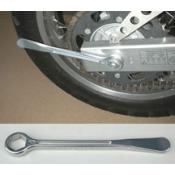 Aluminium Tire Lever with 24mm box wrench