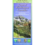 Central Washington Cascades Recreation Map