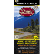 Butler Motorcycle Maps - Wyoming