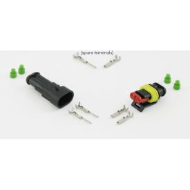 AMP superseal 2 pole connector set Product Thumbnail
