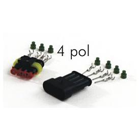 AMP superseal 4 pole connector set Product Thumbnail