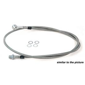 PTFE steel braid brake line R100/80GS '90-95 FRONT +2cm Product Thumbnail