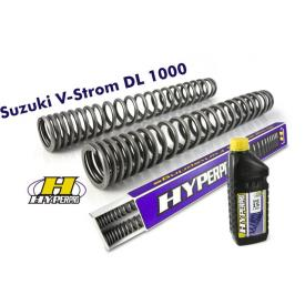 Hyperpro Progressive Fork Springs, Suzuki V-Strom DL1000 up to 2013 Product Thumbnail