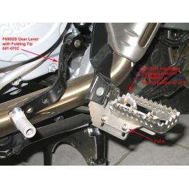 Height Adjustable Footpegs, BMW F650GS/G650GS Single, Sertao, R1100 / 1150GS Product Thumbnail