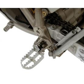 Lower footpegs, BMW G450X Stainless Steel Product Thumbnail