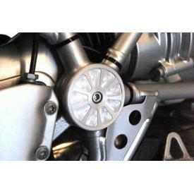 Suspension Pivot Cover - Left Silver R1200GS and Adventure Product Thumbnail