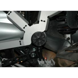 Suspension Pivot Cover - Left Black R1200GS and Adventure Product Thumbnail