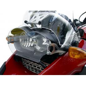 Clear Headlight Guard with Glare Shield R1200GS & Adventure, 2005-2013 Oil Cooled, Product Thumbnail