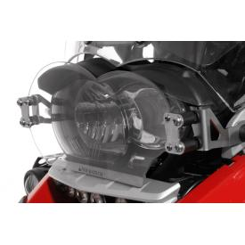 Quick Release Clear Headlight Guard, BMW R1200GS / ADV, 2005-2013, Oil Cooled Product Thumbnail