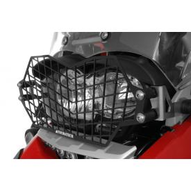 Quick Release Stainless Steel Headlight Guard, Black, BMW R1200GS / ADV 2005-2012, Oil Cooled Product Thumbnail