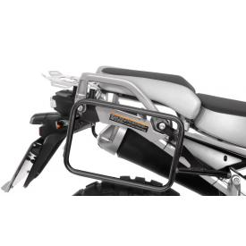 Black Stainless Steel Pannier Rack for Yamaha XT1200Z Super Tenere, ALL YEARS Product Thumbnail