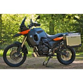 Large Fuel tank F800GS up to 2012, +5.3g Black/LavaOrange Product Thumbnail