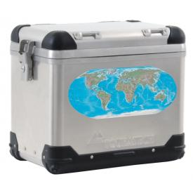 World Map pannier decal - Detail COLOR Product Thumbnail