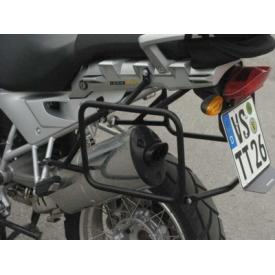 Pannier Racks, Black Stainless Steel, BMW R1200GS / ADV, 2005-2013 Oil Cooled Product Thumbnail