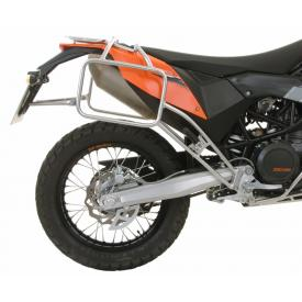 Stainless Steel Pannier Racks, KTM 690 Enduro / R (2018 & Older) Product Thumbnail