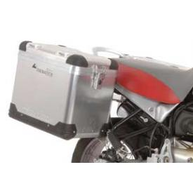 ZegaPro Pannier Syst BMW R11xxGS SS racks 38L, 45L Silver-Anodized cases Product Thumbnail