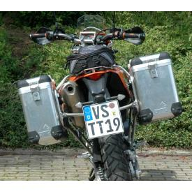 Pannier System KTM 690E (2018 and older) 31L,38L w SS rack Product Thumbnail
