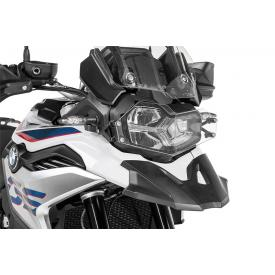 Quick Release Clear Headlight Guard, BMW F850GS, F750GS Product Thumbnail