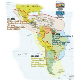CLOSEOUT - QV maps Mexico/Central Am. (Was $104) Product Thumbnail