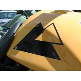 Touratech Logo Sticker  10.6inches (27cm) BLACK (each) Product Thumbnail