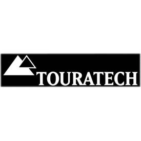 Touratech Logo Sticker  8 inches (20cm) WHITE  (each) Product Thumbnail