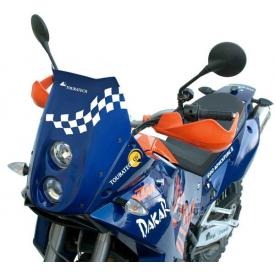 KTM 950/990 LC8 Adventure light cowling twin headlights DE/DE, blue Product Thumbnail