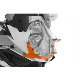 Quick Release Clear Headlight Guard, KTM 1190 & 1090 Adventure / R / 1290 SA Product Thumbnail
