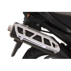 Aluminum Muffler Guard, Suzuki V-Strom DL650 (up to 2012) Product Thumbnail