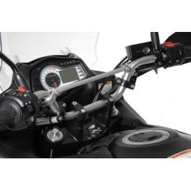 Bar Risers, 30mm, Black, Suzuki V-Strom DL650 Product Thumbnail