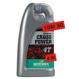 Motorex CROSS POWER 4T 10w50 100% Syn  (4 Liter Bottle) Product Thumbnail
