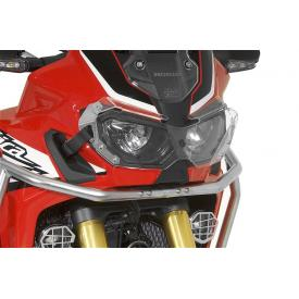 Quick Release Clear Headlight Guard, Honda Africa Twin CRF1000L Product Thumbnail