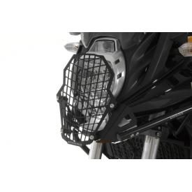 Quick Release Stainless Steel Headlight Guard, Kawasaki Versys 650 w/ Touratech Crash Bars 2010-2014 Product Thumbnail