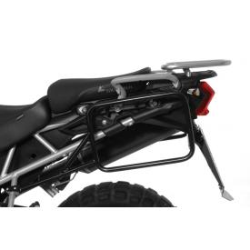 Pannier Rack, Black Stainless Steel, Triumph Tiger 800 / XC Product Thumbnail