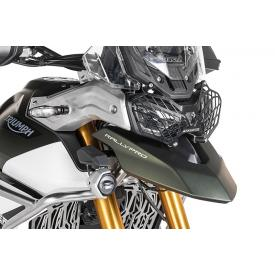 Quick Release Aluminum Headlight Guard, Triumph Tiger 900 Product Thumbnail