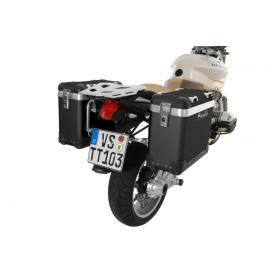 Pannier System - ZegaPro Anodized Black 38L, BMW R1200R, up to 2012 Product Thumbnail