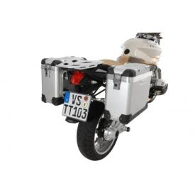 Pannier System - ZegaPro Anodized Silver 38L, BMW R1200R, up to 2012 Product Thumbnail