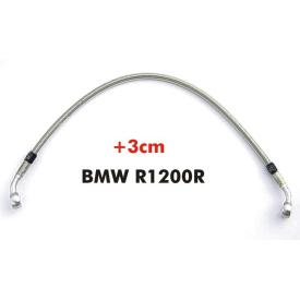 Steel Braided Front Brake Line +3cm, BMW R1200R, 2006-on Product Thumbnail