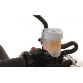 CLOSEOUT - Brake fluid reservoir, Triumph Tiger 1050i, front lid (Was $77) Product Thumbnail